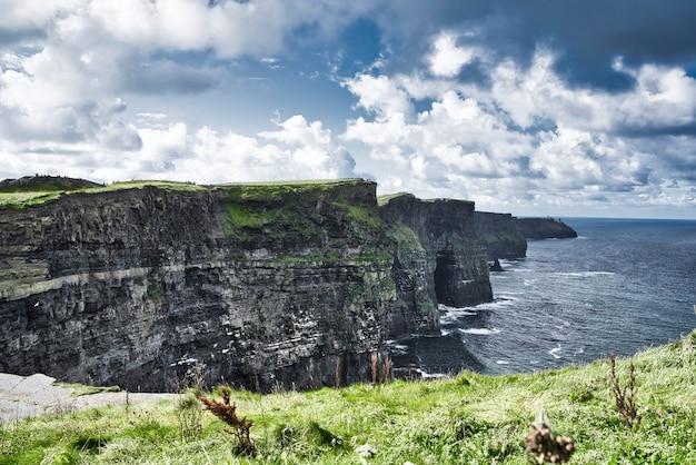 郡クレアアイルランドのモハーの断崖。