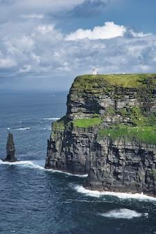 アイルランドのモハーの断崖の眺め