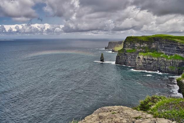 モハーの断崖とアイルランドの城