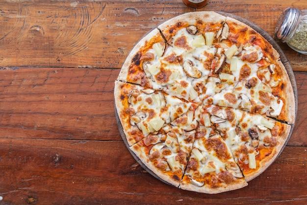 ベジタリアンピザ