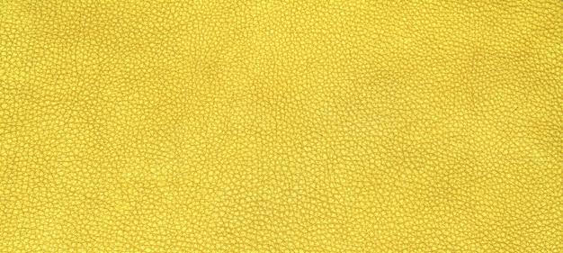 革の黄色の質感
