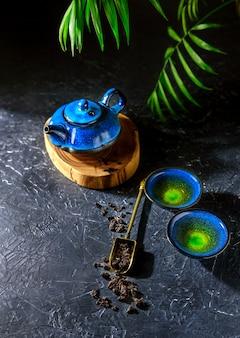 Китайский чайный ритуал. восточная чайная церемония.