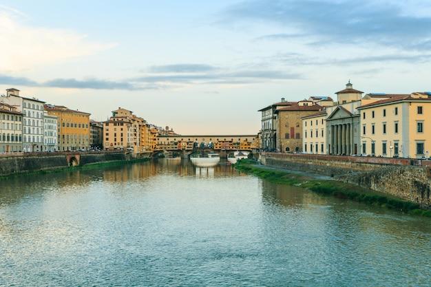 Понте веккио, флоренция, тоскана, италия