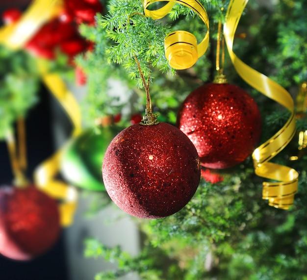 クリスマスの背景テンプレート