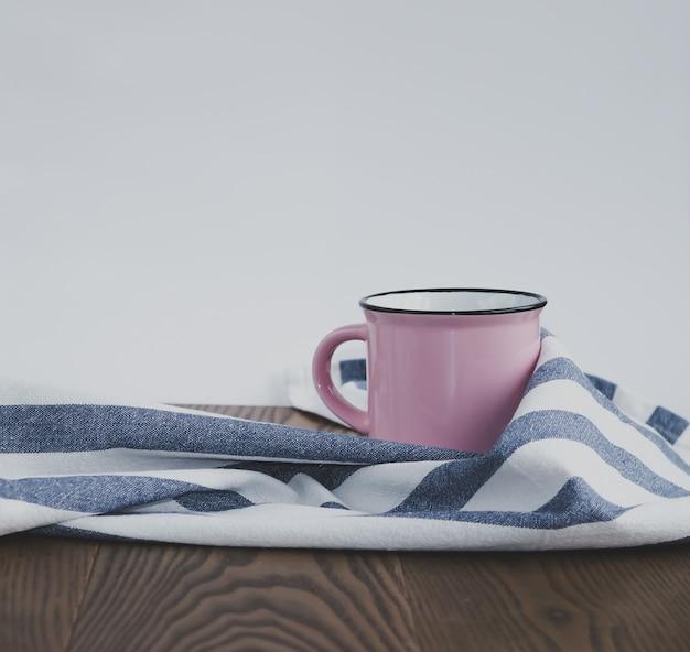 ピンクの素敵なお茶。