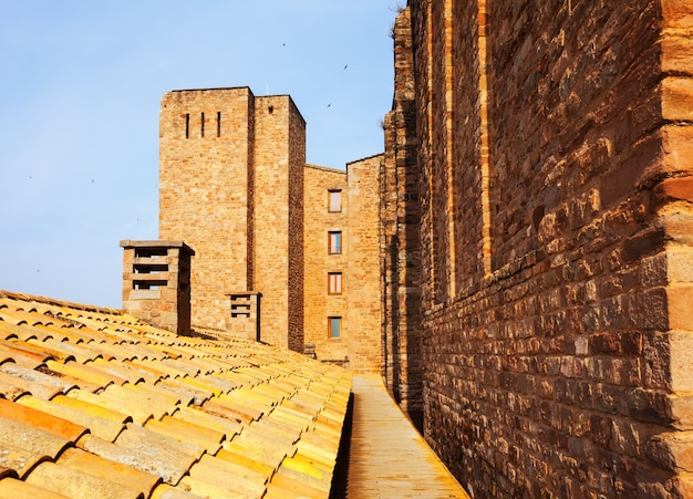 カルダナ城のクローズアップ