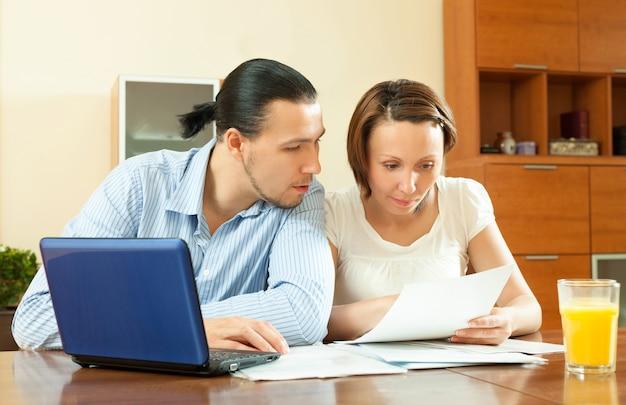 Пара расчета семейного бюджета