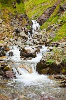 山脈の流れ