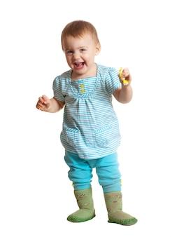 幸せな幼児