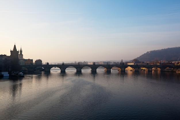 チャールズ橋。プラハ、チェコ共和国