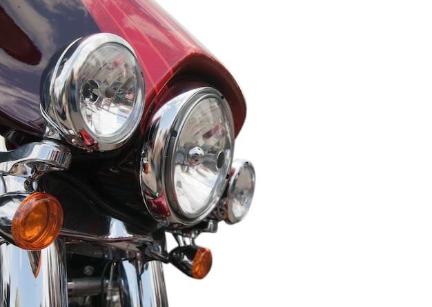 オートバイのヘッドライト