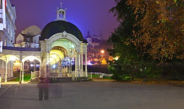 Ночной вид на карлсбад