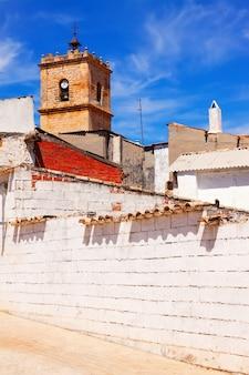 普通のスペイン語の町。エル・トボソ