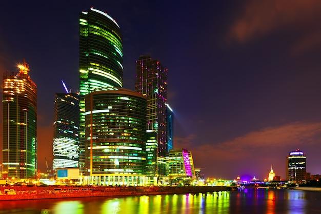 モスクワ市の高層ビル
