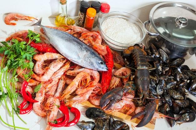 新鮮な海産物