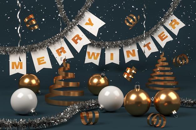 メリーウィンター、クリスマスボール