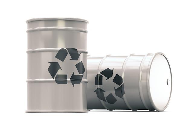 廃棄物バレルのリサイクル-