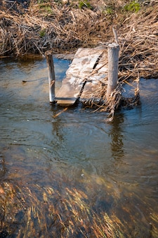 Мосток на реке