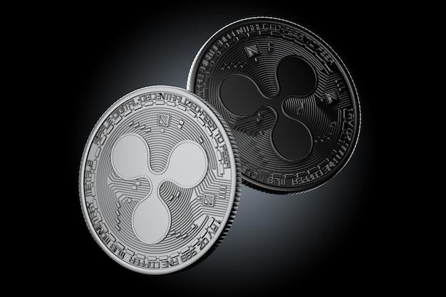 Монеты темной ряби
