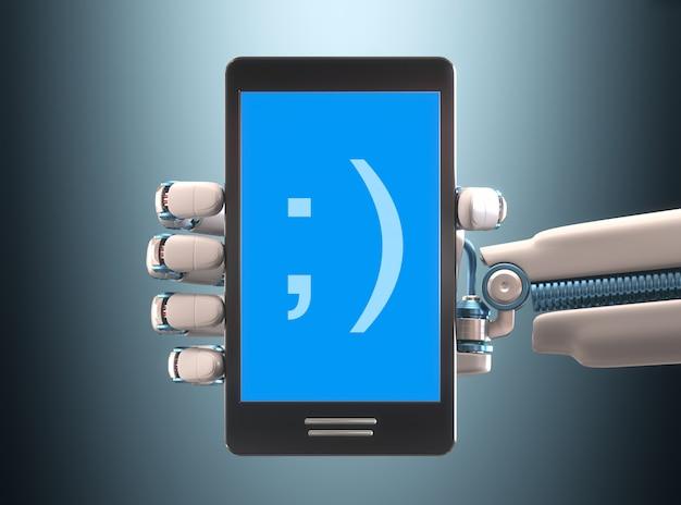 携帯電話ロボット