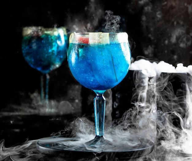 Голубая лагуна с огурцом