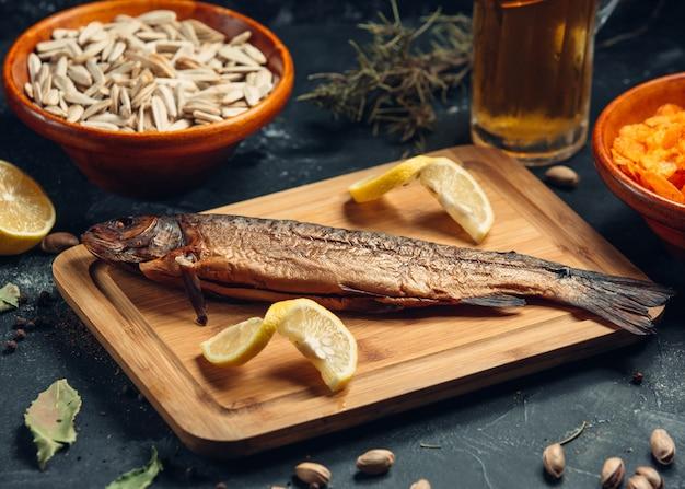 ライム焼き魚