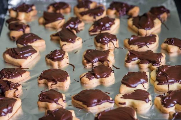 チョコレート入りクッキー