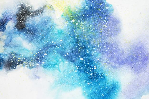 水彩抽象絵画のテクスチャ背景
