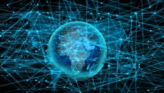 グローバリゼーションと国際化のコンセプト