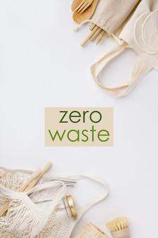 Нулевые отходы, переработка, концепция устойчивого образа жизни, плоская планировка