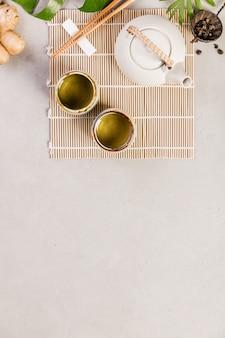 アジア料理の背景