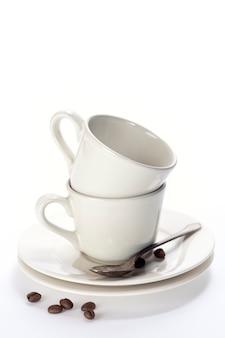 積み上げコーヒーカップ