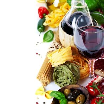 Итальянская еда и вино