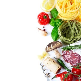 Итальянская еда.