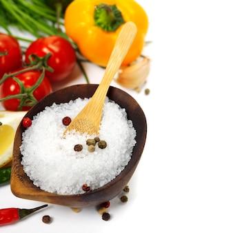 Соль и овощи