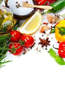 Оливковое масло и ингредиенты