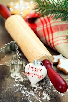 Выпечка рождественского печенья