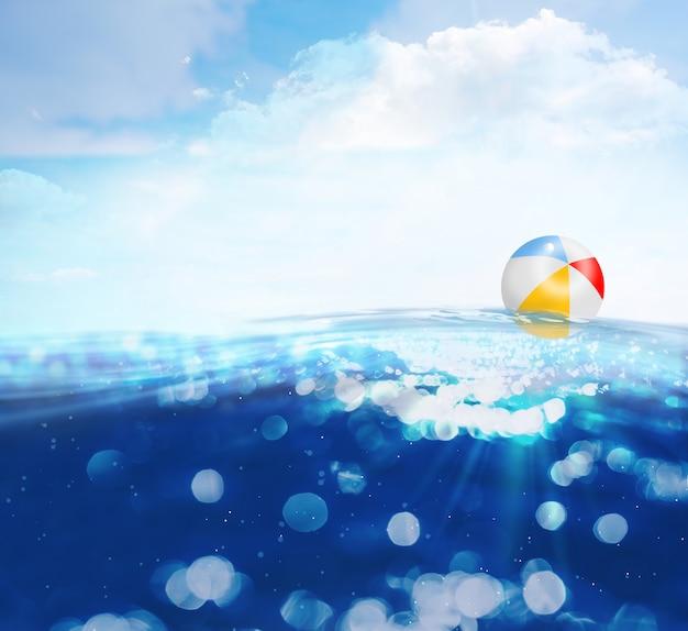 Летние морские волны