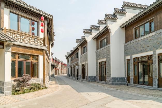 典型的な村の通り