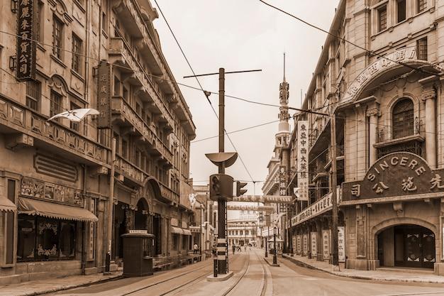 美しい旧市街の景色