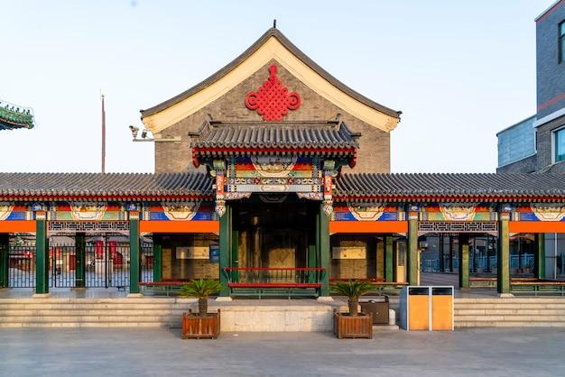 Старые здания четырехугольника тяньцзинь