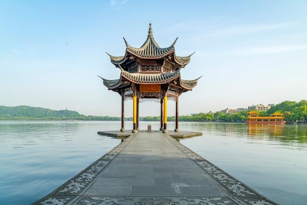 杭州の西湖の美しい風景