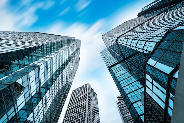 香港の商業ビルの超高層ビル