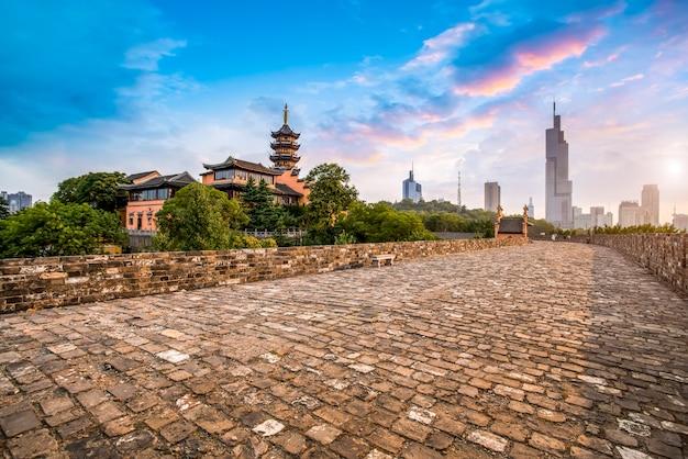 南京の古い壁