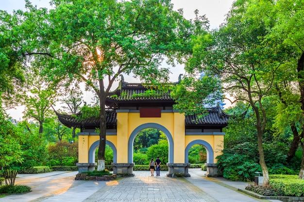 中国古典建築庭園