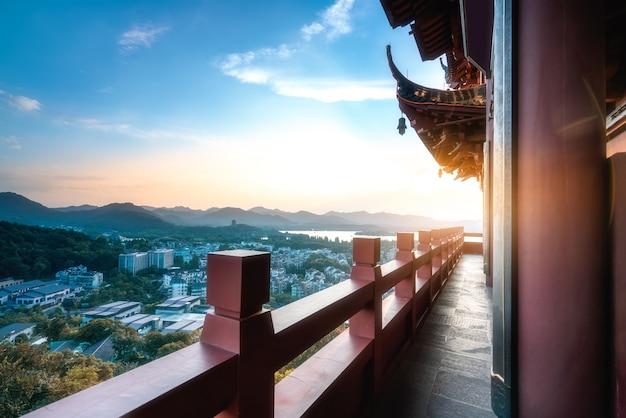 杭州の西湖の風景