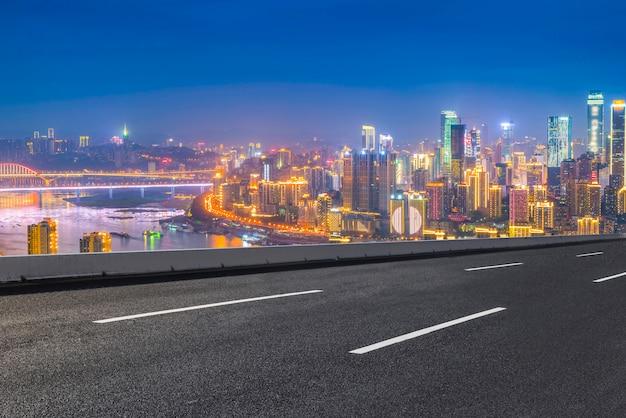 高速道路のテクスチャ黄色のスピードウェイ背景の旅