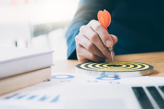 ビジネス戦略計画成功目標の目標。