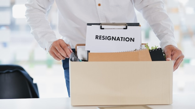 Бизнес смена работы, безработица, подал в отставку.
