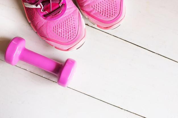 木製の床のトレーニング要素